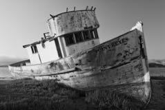 Punto Reyes Shipwreck immagine stock