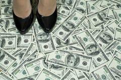 Punto a ricchezza Immagini Stock Libere da Diritti