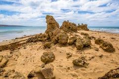 Punto Roadknight, grande strada Victoria dell'oceano fotografia stock