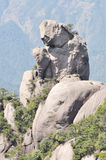 Punto scenico di Sanqingshan Fotografie Stock