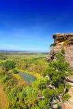Punto Shawnee National Forest de la inspiración Imagenes de archivo