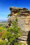 Punto Shawnee National Forest di ispirazione fotografia stock