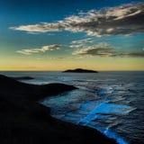 Punto Udall en la puesta del sol Imágenes de archivo libres de regalías