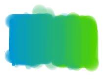 Punto verde blu di rettangolo. Fotografie Stock Libere da Diritti
