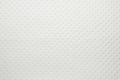 Artificial fabric texture Punto 19658 white color dotted Royalty Free Stock Images