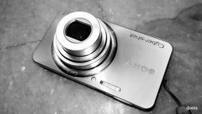 Punto y lanzamiento de la cámara digital Imágenes de archivo libres de regalías