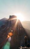 Punto Yosemite del glaciar Imágenes de archivo libres de regalías