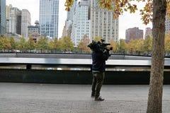 Punto Zero a New York Fotografie Stock Libere da Diritti