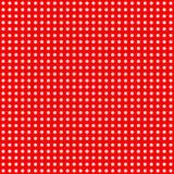 Puntos blancos en modelo rojo Imágenes de archivo libres de regalías