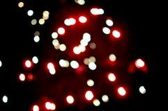 Puntos borrosos del fuego artificial Imagenes de archivo