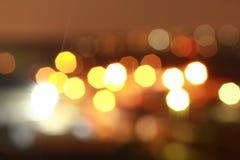 puntos brillantes de la luz Fotografía de archivo libre de regalías