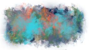 Puntos brillantes de la pintura en un fondo transparente almacen de metraje de vídeo