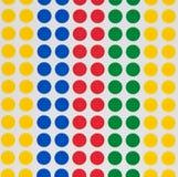 Puntos coloreados Foto de archivo libre de regalías