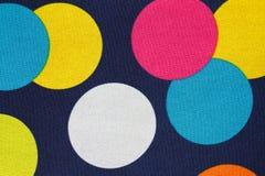 Puntos coloreados foto de archivo