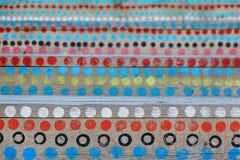 Puntos coloreados Imagen de archivo libre de regalías