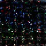 Puntos coloreados de neón Foto de archivo libre de regalías