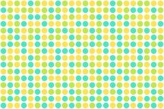 Puntos, colores del resorte Foto de archivo libre de regalías