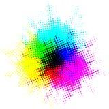 Puntos coloridos del punto Foto de archivo libre de regalías