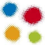 Puntos compensados (vector) Foto de archivo libre de regalías