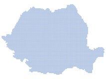 Puntos de la correspondencia de Rumania libre illustration