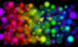 Puntos de la luz imagen de archivo