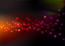 Puntos de luces del disco libre illustration