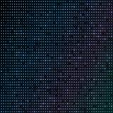 Puntos de neón del color azul abstracto, fondo punteado de la tecnología Partículas que brillan intensamente, modelo ligero lleva Imágenes de archivo libres de regalías
