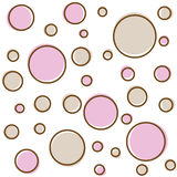 Puntos de polca ilustración del vector