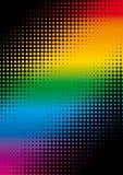 Puntos del arco iris Foto de archivo