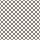 Puntos horizontales ovales Imagen de archivo libre de regalías