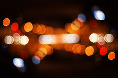 Puntos ligeros de calle Imagen de archivo