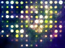 Puntos ligeros de Grunge Foto de archivo