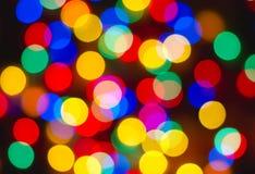 puntos Mucho-coloreados Imágenes de archivo libres de regalías