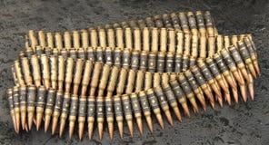 Puntos negros de la munición. Fotos de archivo libres de regalías