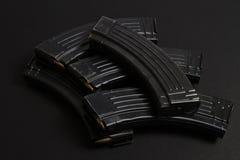 Puntos negros del rifle de asalto Foto de archivo libre de regalías