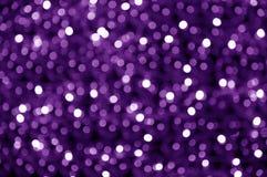 Puntos púrpuras abstractos Foto de archivo