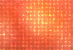 Puntos que brillan intensamente anaranjados Fotografía de archivo libre de regalías