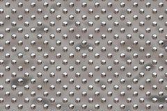 Puntos redondos del metal - cromo Libre Illustration
