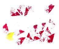 Puntos rojos del grunge fotografía de archivo libre de regalías