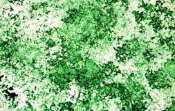 Puntos románticos oscuros brillantes verdes que pintan el fondo de la acuarela, fondo de pintura abstracto de la acuarela fotos de archivo