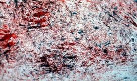 Puntos románticos rosados de plata rojo oscuro que pintan el fondo de la acuarela, fondo de pintura abstracto de la acuarela imagenes de archivo