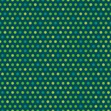Puntos verdes del fondo irlandés inconsútil lindo del vector libre illustration