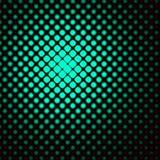 Puntos verdes retros ilustración del vector