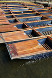 Punts - Cambridge Royalty Free Stock Photography