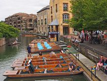Punts, Cambridge, England Stock Photography