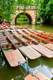 Punts in Oxford Stock Photo