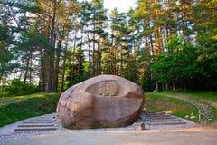 Puntukas boulder Stock Photography