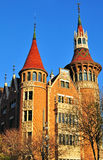 The Punxes house, Barcelona Royalty Free Stock Image