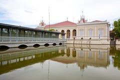 Punzada-PA-En palacio Fotos de archivo