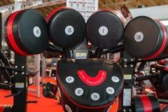 Punzonadora moderna para el ejercicio de encajonamiento de la práctica y de la aptitud Fotografía de archivo